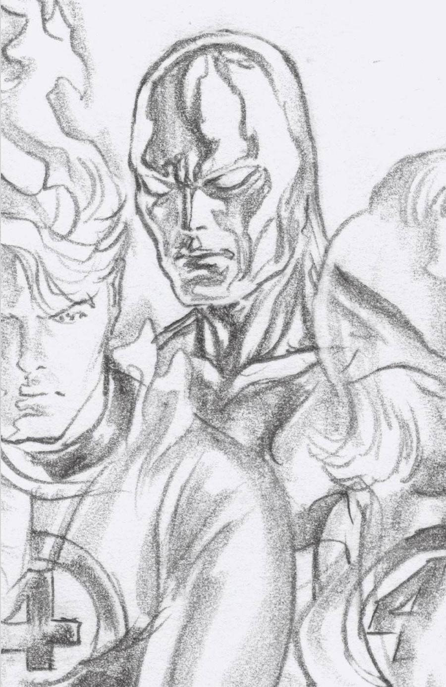 Fantastic Four Antithesis #2 Cover D Incentive Alex Ross Timeless Silver Surfer Virgin Sketch Cover