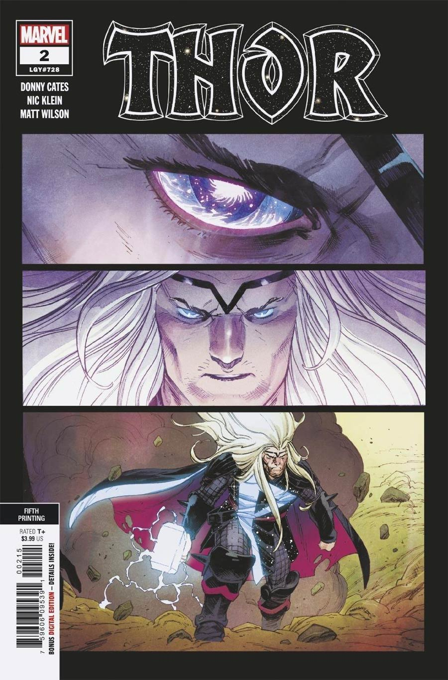 Thor Vol 6 #2 Cover G 5th Ptg Variant Cover