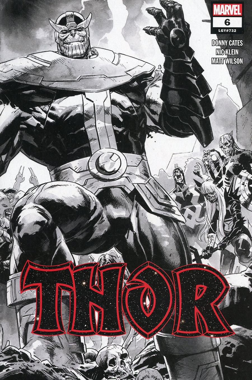 Thor Vol 6 #6 Cover E 2nd Ptg Incentive Nic Klein Sketch Cover