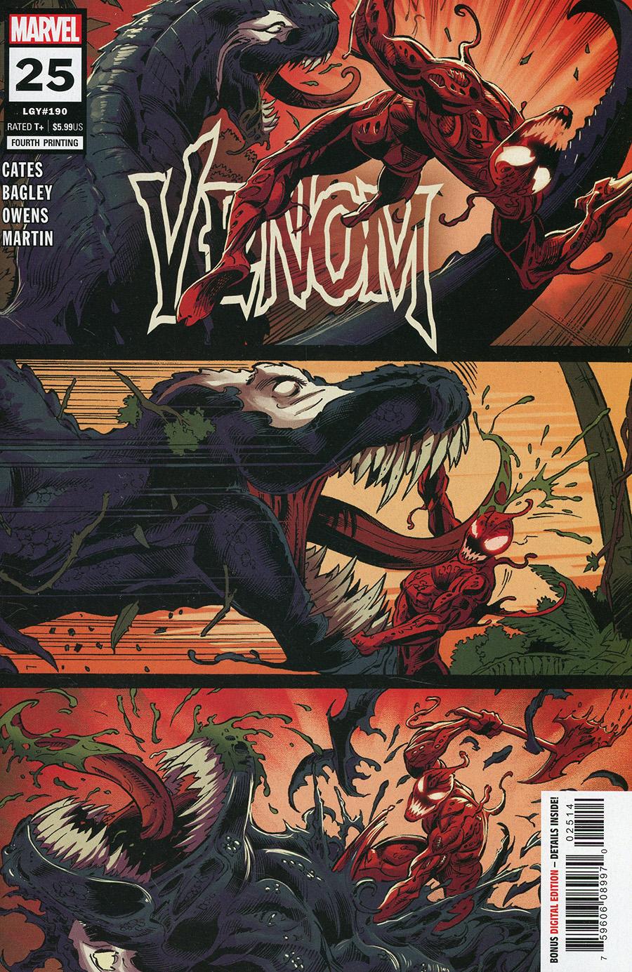 Venom Vol 4 #25 Cover U 4th Ptg Variant Cover