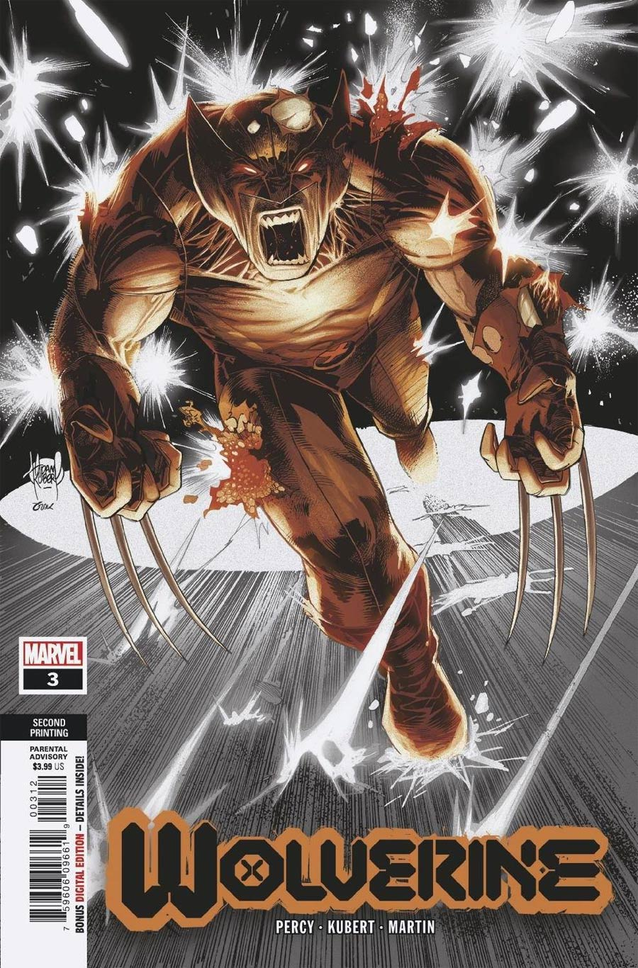Wolverine Vol 7 #3 Cover E 2nd Ptg Variant Cover