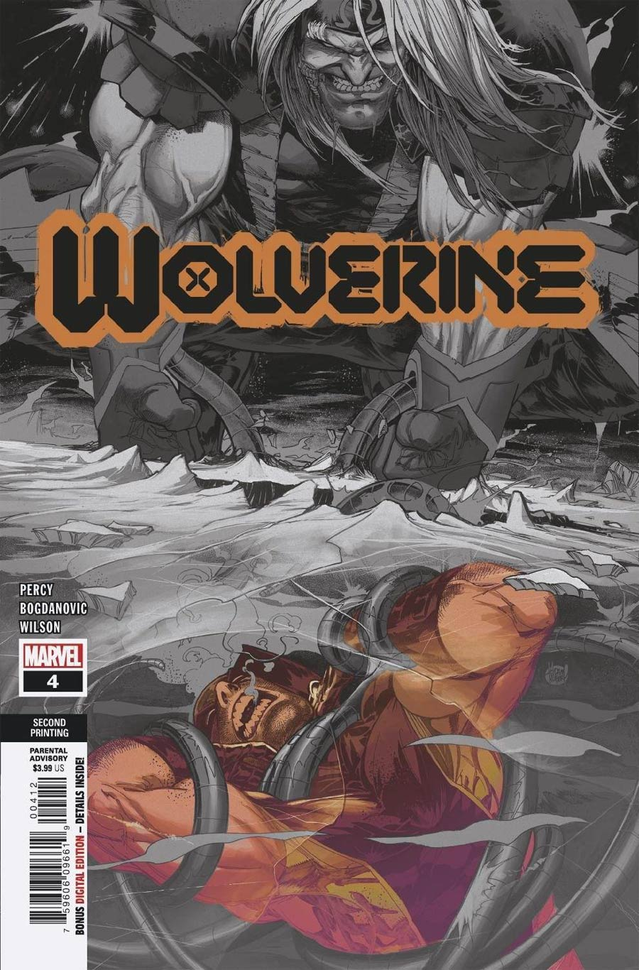 Wolverine Vol 7 #4 Cover D 2nd Ptg Variant Cover