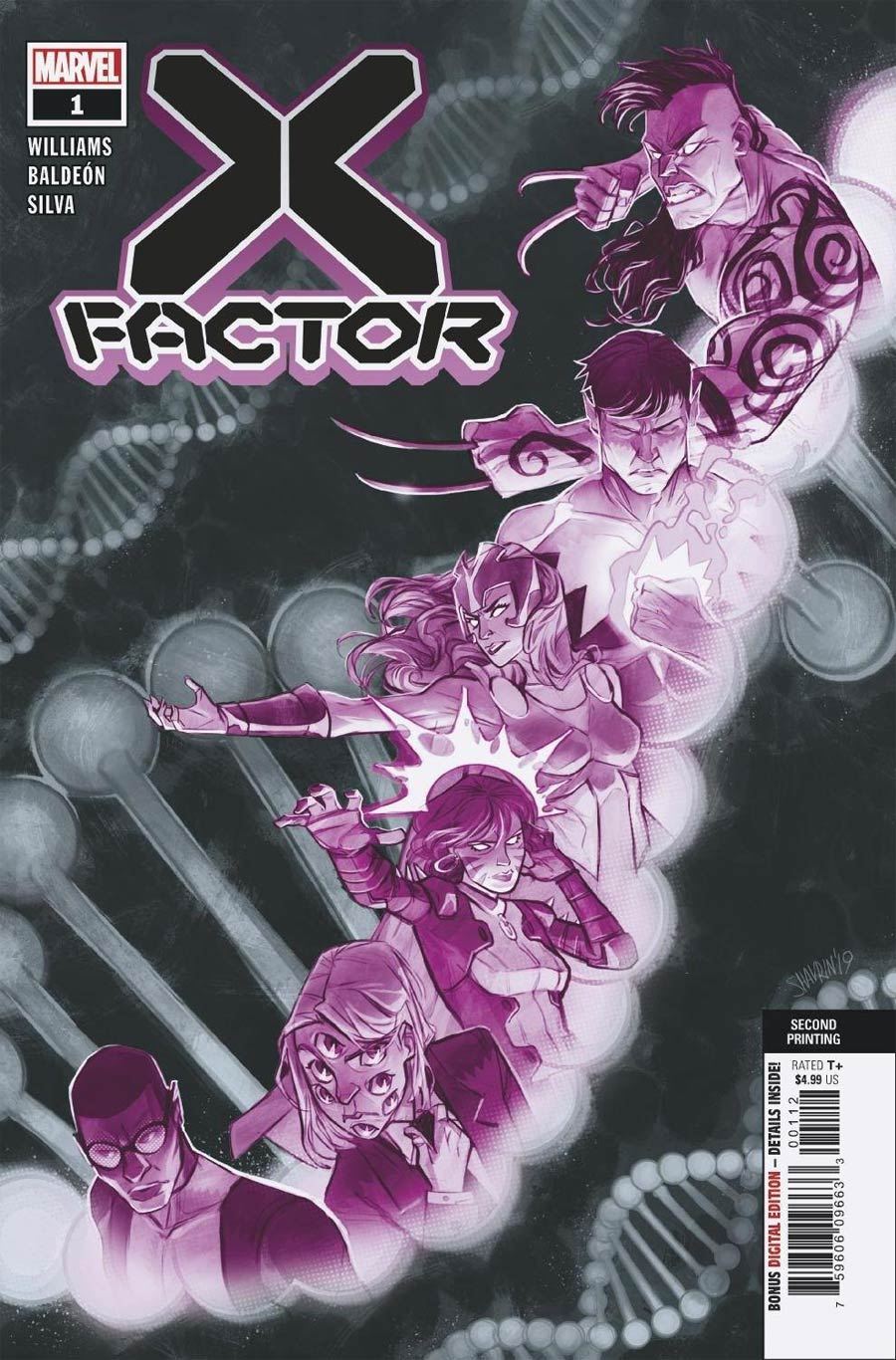 X-Factor Vol 4 #1 Cover H 2nd Ptg Ivan Shavrin Variant Cover