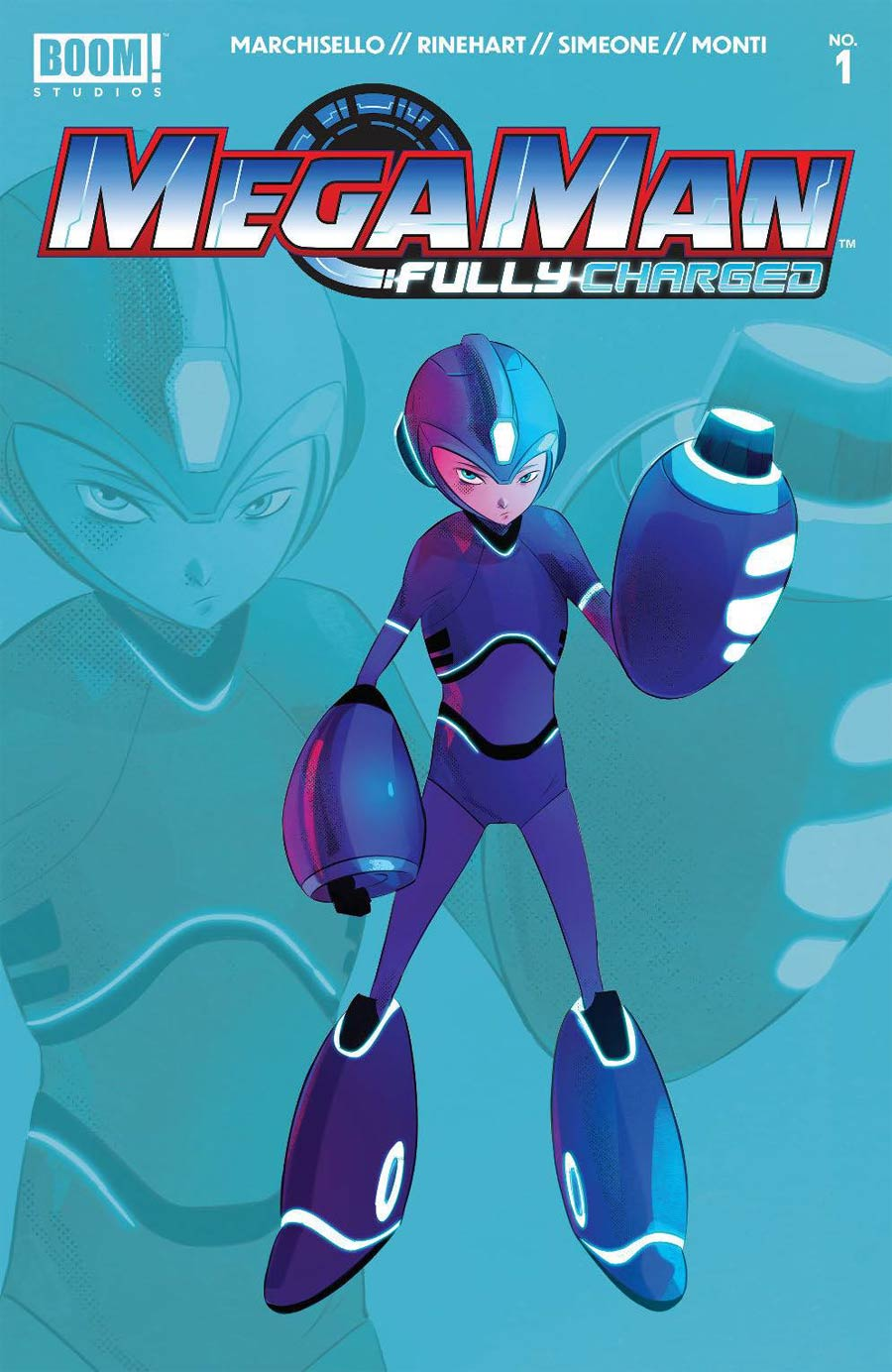 Mega Man Fully Charged #1 Cover H 2nd Ptg