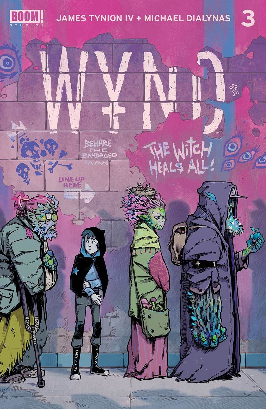Wynd #3 Cover D 2nd Ptg