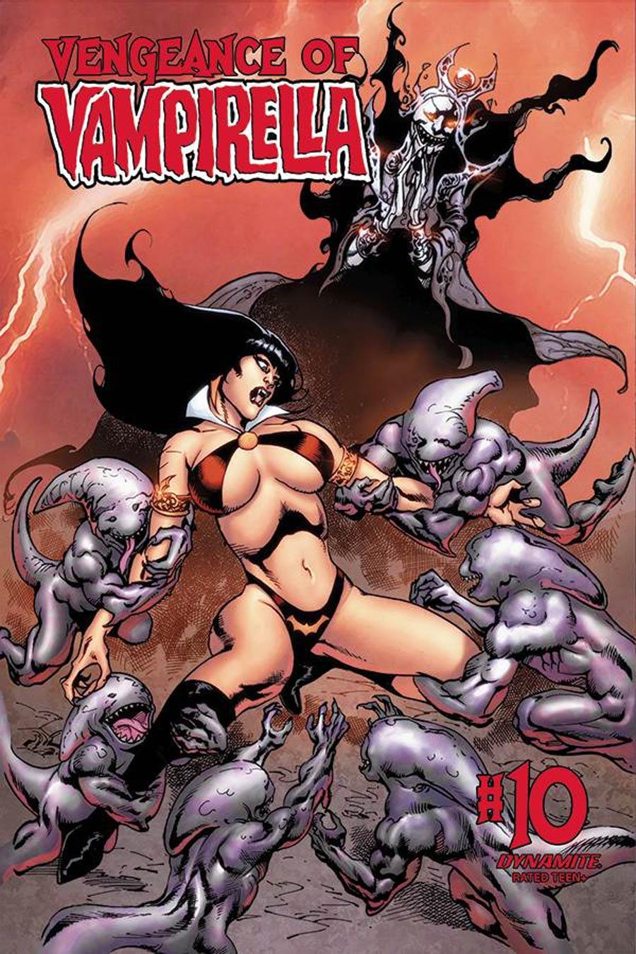 Vengeance Of Vampirella Vol 2 #10 Cover E Variant Roberto Castro Cover