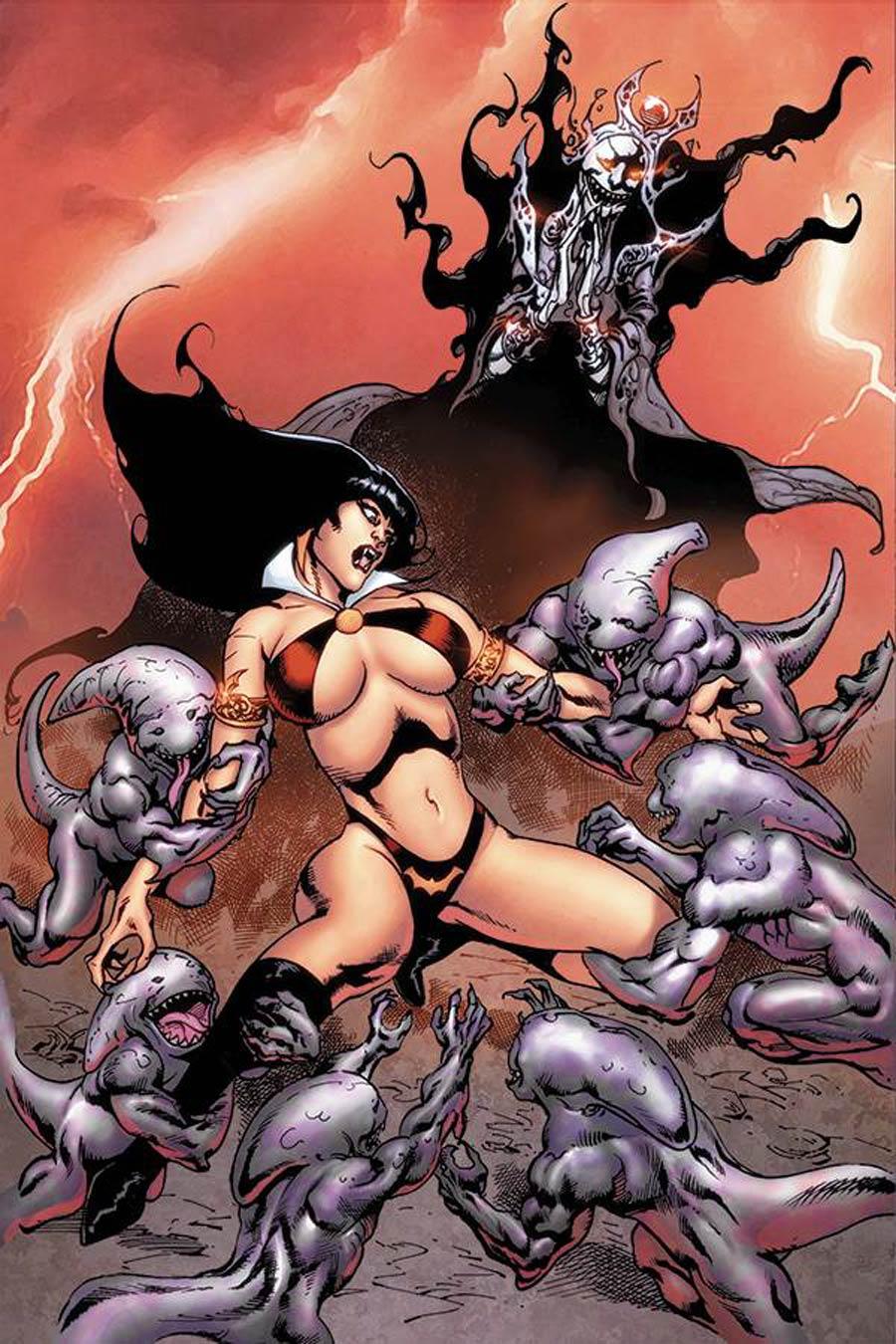 Vengeance Of Vampirella Vol 2 #10 Cover H Incentive Roberto Castro Virgin Cover