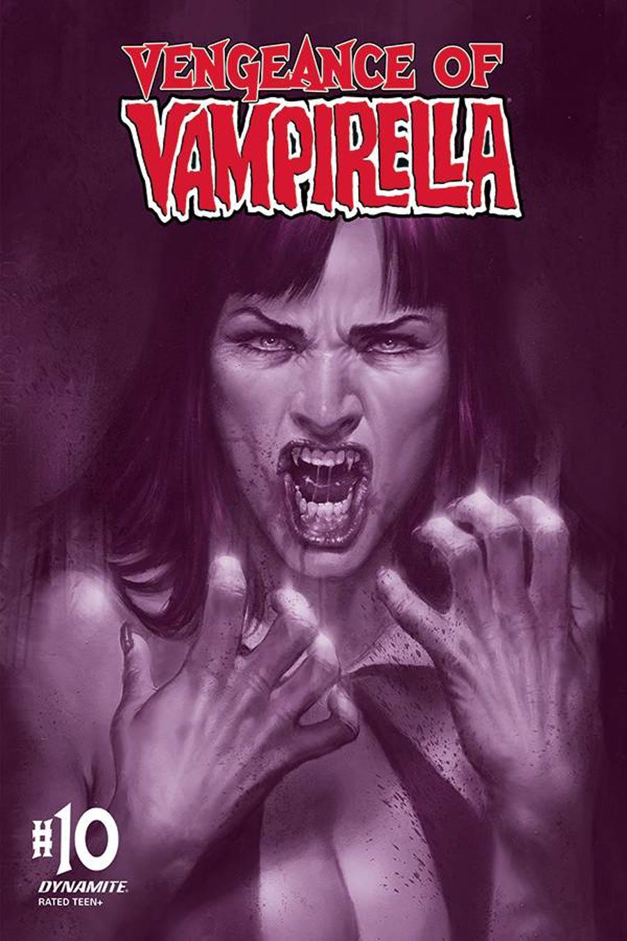 Vengeance Of Vampirella Vol 2 #10 Cover M Incentive Lucio Parrillo Tint Cover