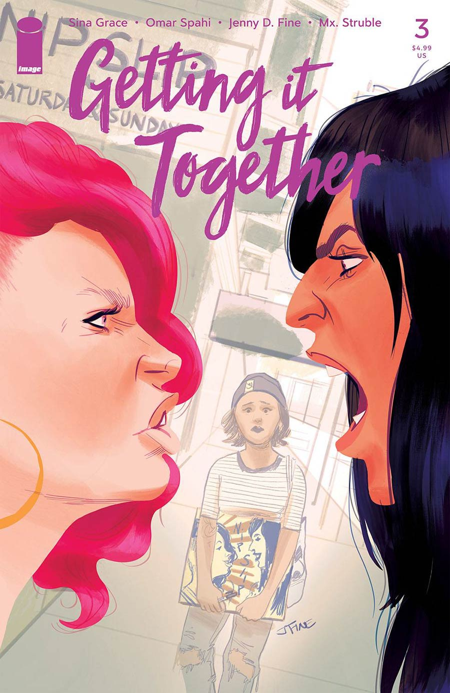 Getting It Together #3 Cover A Regular Jenny Fine Cover