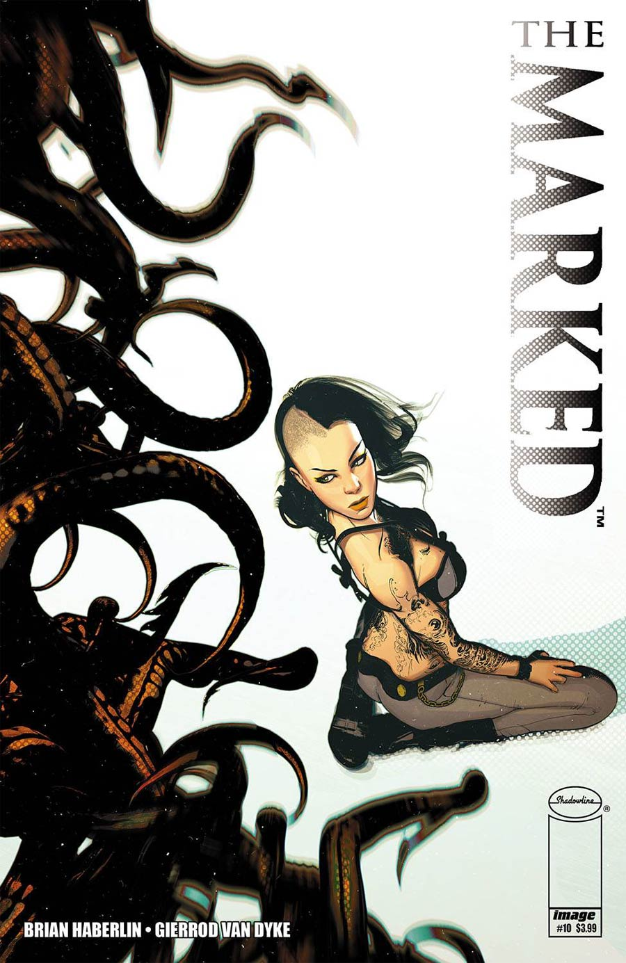 Marked #10 Cover A Regular Brian Haberlin Cover