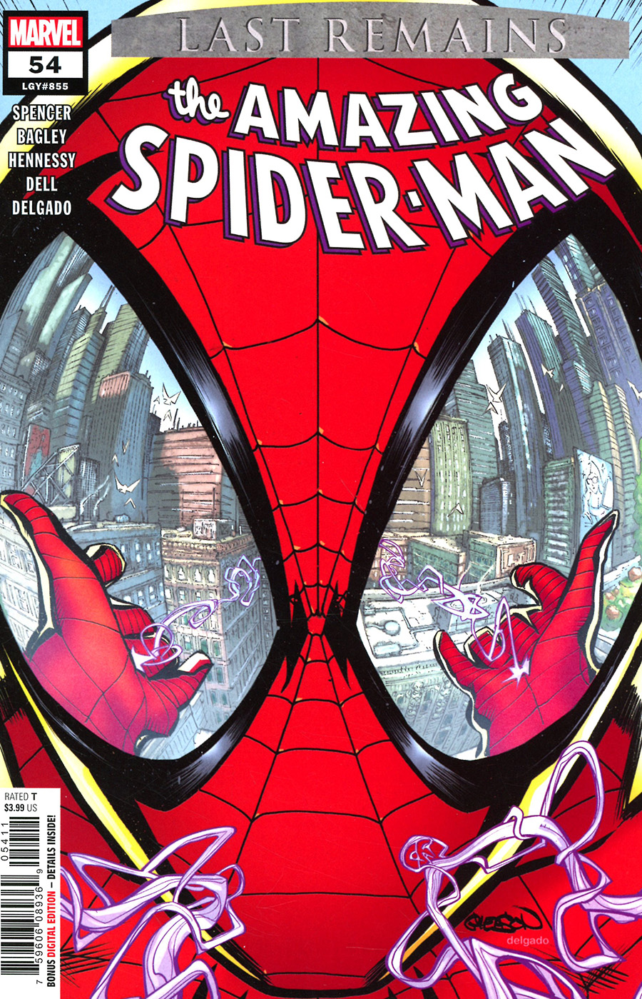 Amazing Spider-Man Vol 5 #54 Cover A Regular Patrick Gleason Cover