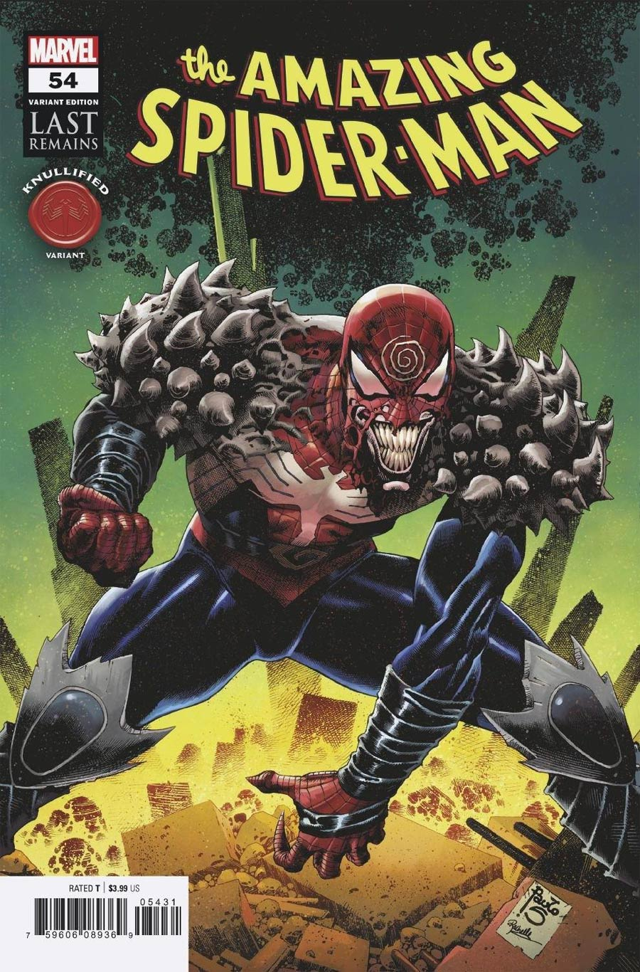 Amazing Spider-Man Vol 5 #54 Cover B Variant Paulo Siquera Knullified Cover