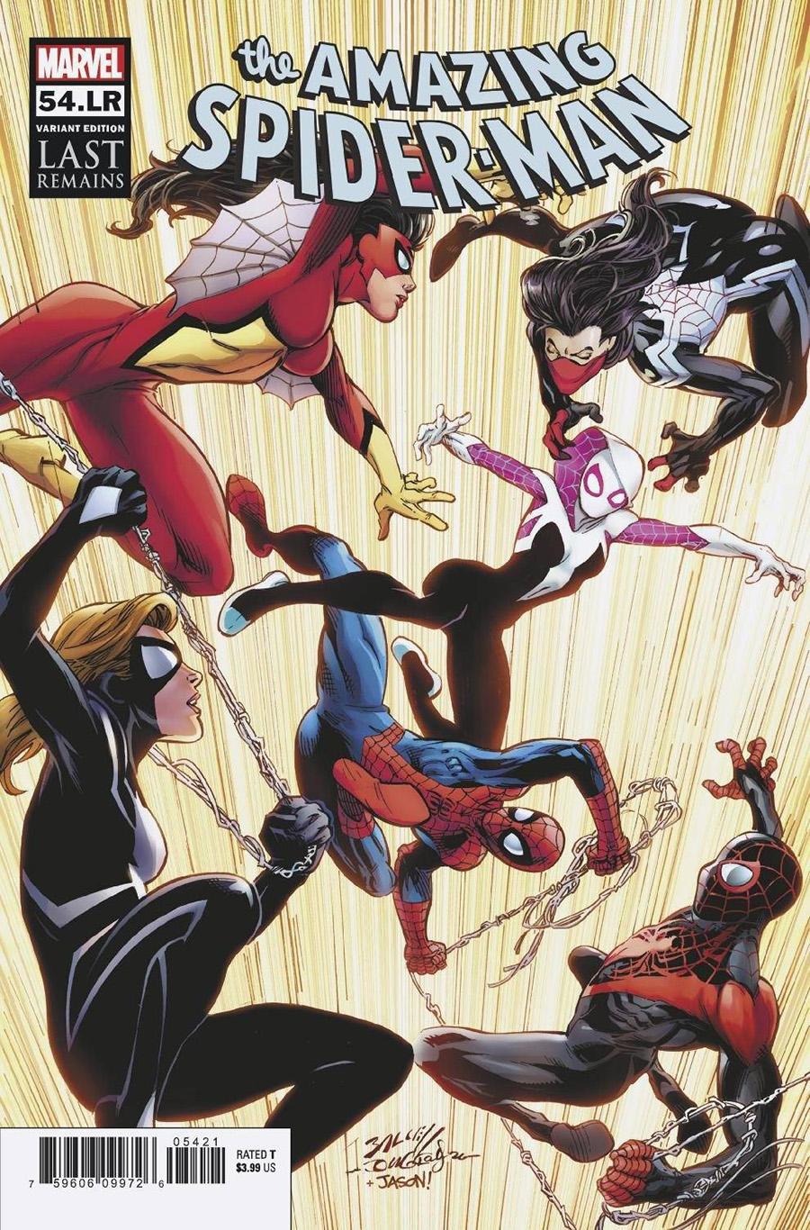 Amazing Spider-Man Vol 5 #54 LR Cover B Variant Mark Bagley Cover