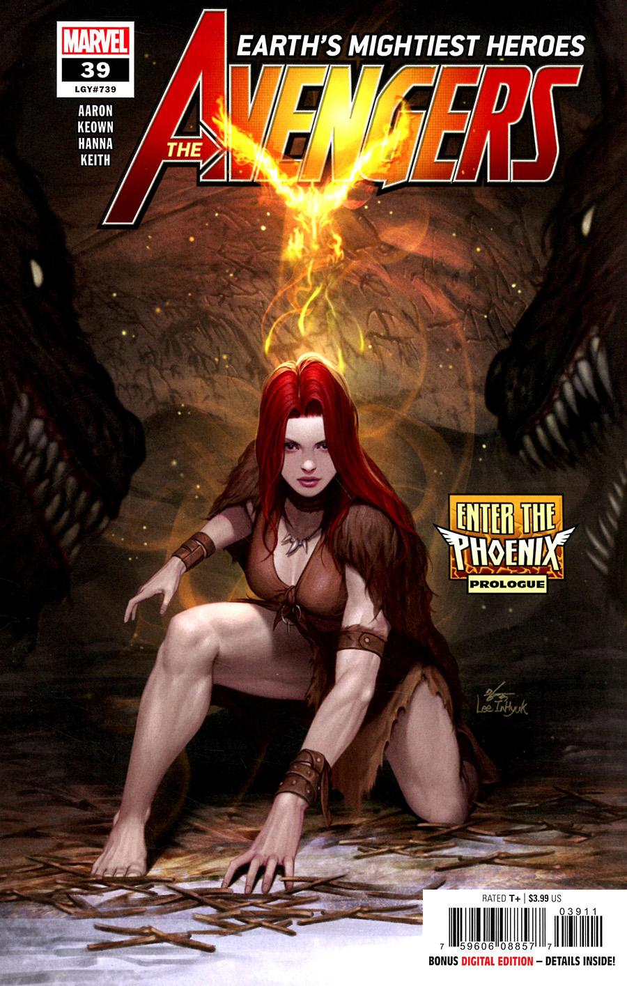 Avengers Vol 7 #39 Cover A Regular Inhyuk Lee Cover