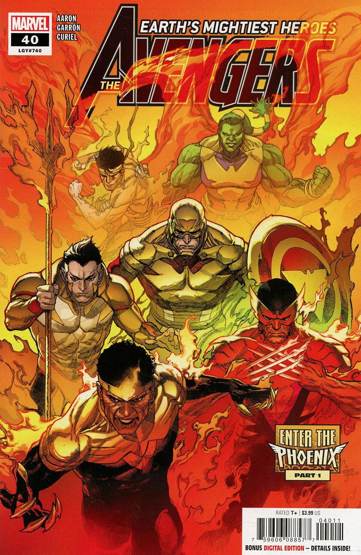 Avengers Vol 7 #40 Cover A Regular Leinil Francis Yu Cover