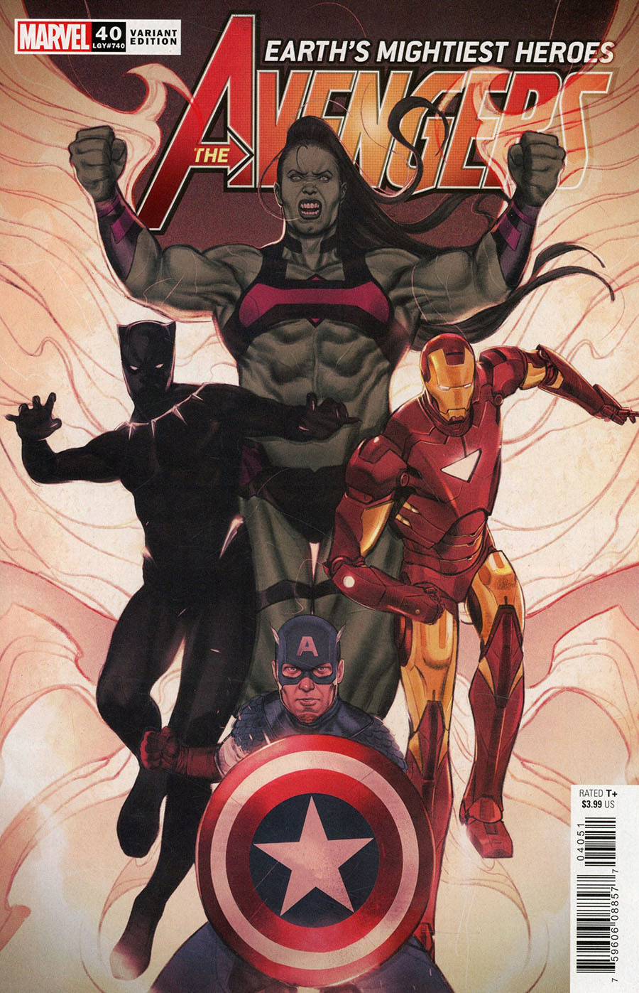 Avengers Vol 7 #40 Cover C Variant Joshua Swaby Cover