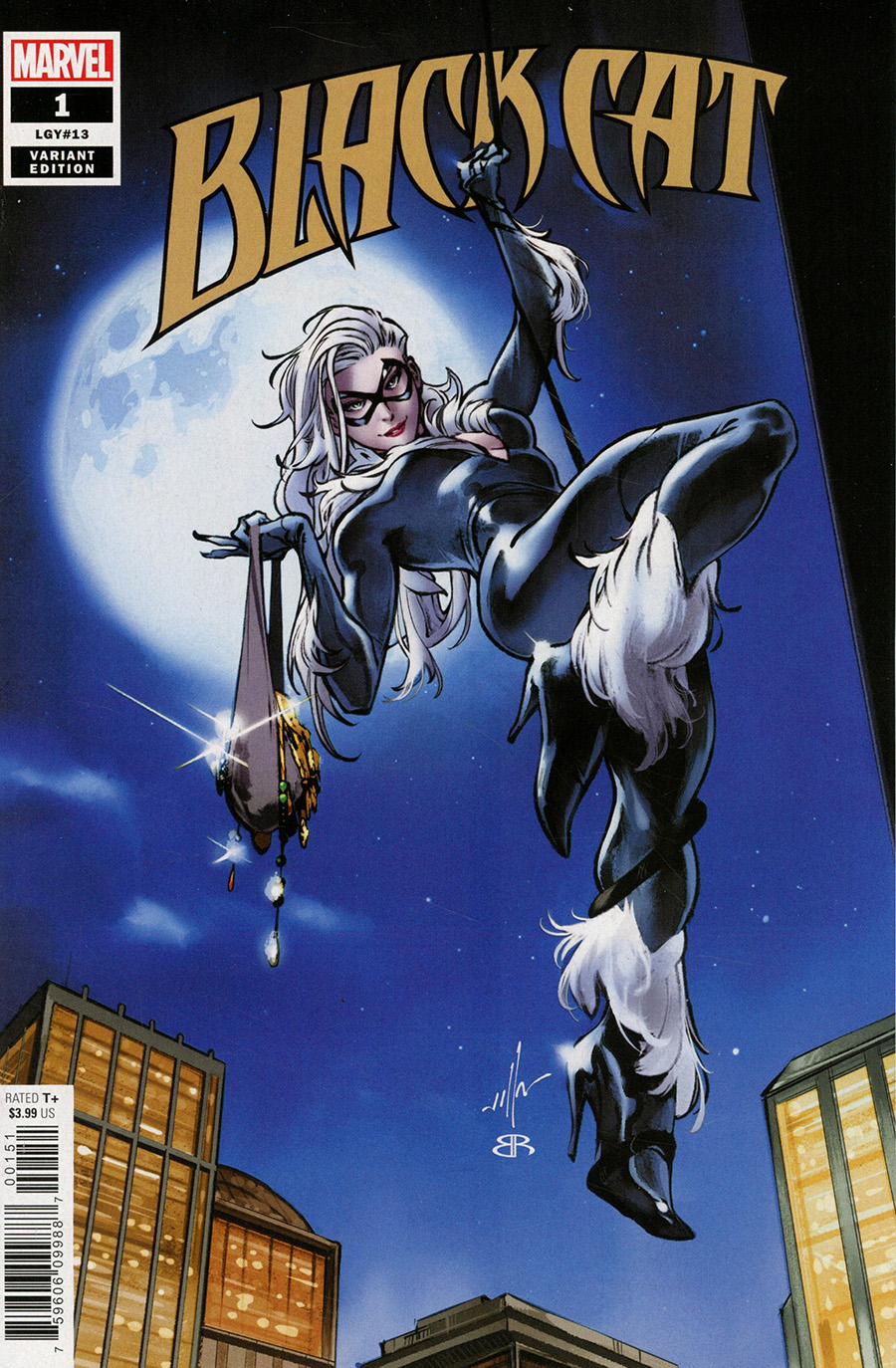 Black Cat Vol 2 #1 Cover C Variant CF Villa Cover (King In Black Tie-In)