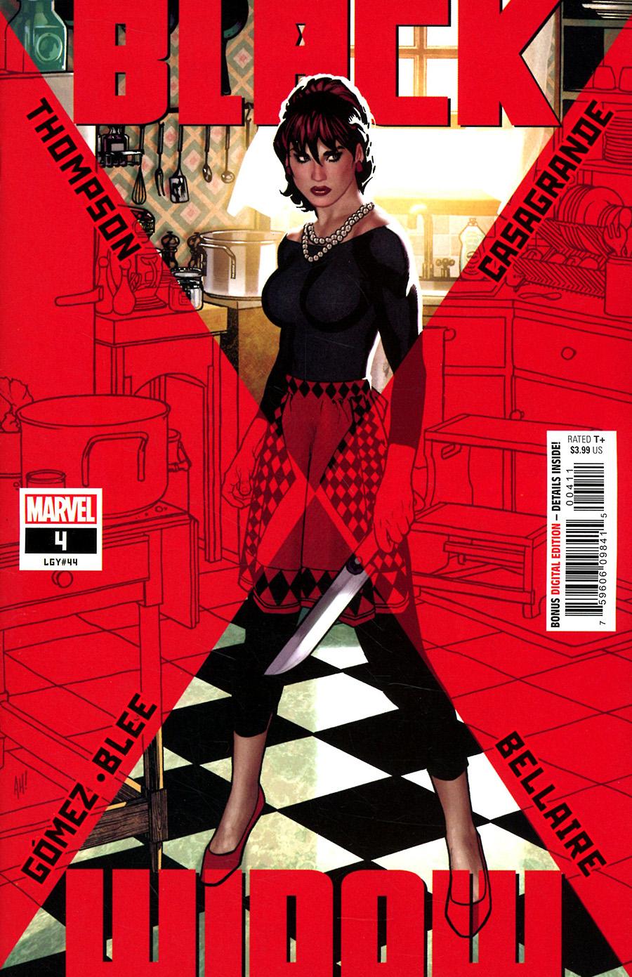 Black Widow Vol 8 #4 Cover A Regular Adam Hughes Cover