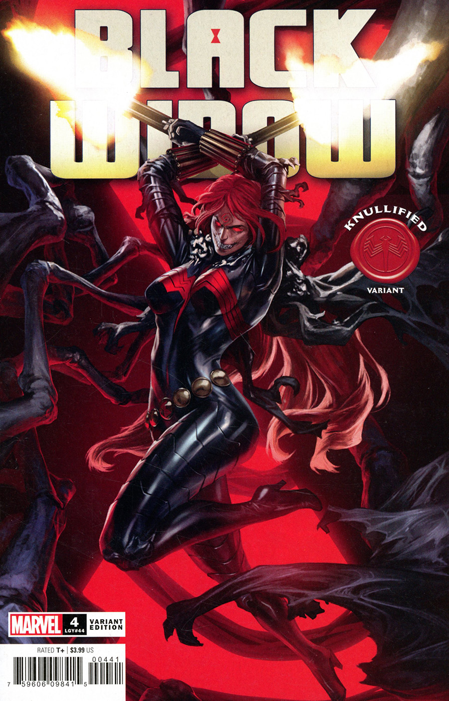 Black Widow Vol 8 #4 Cover B Variant Skan Knullified Cover