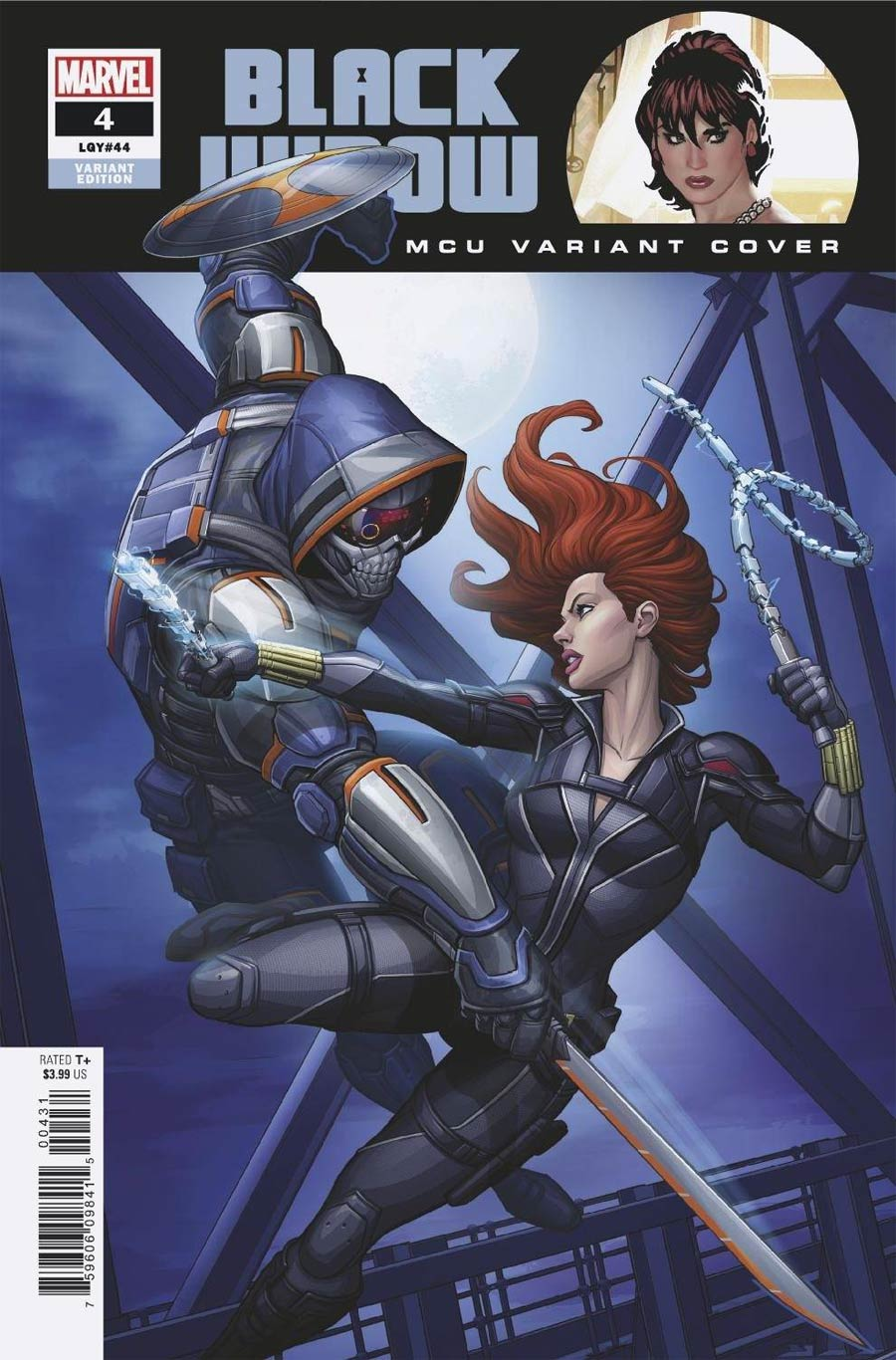 Black Widow Vol 8 #4 Cover C Variant Patrick Brown MCU Cover