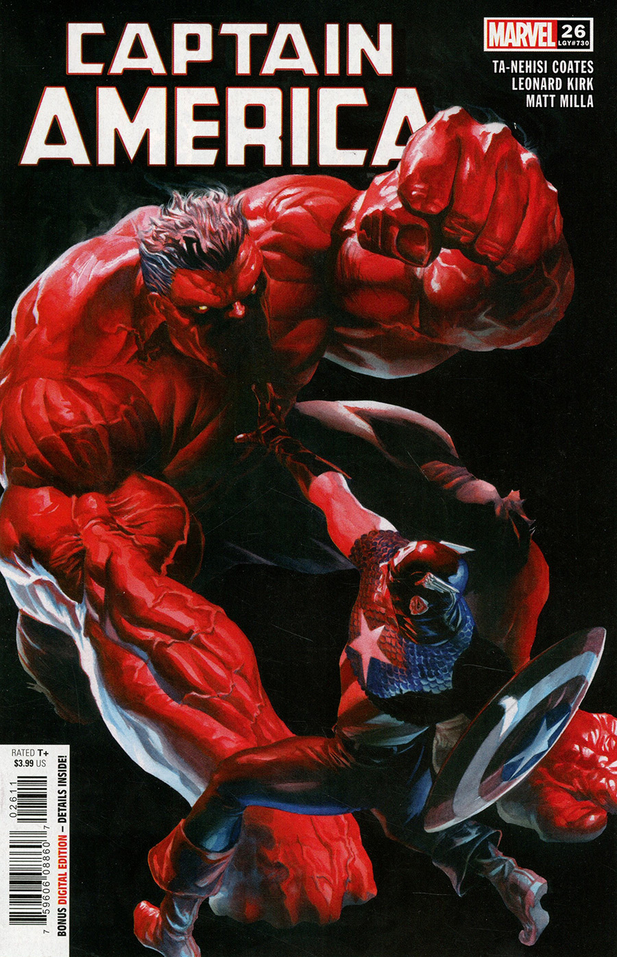 Captain America Vol 9 #26 Cover A Regular Alex Ross Cover