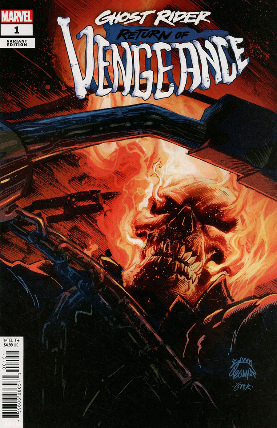 Ghost Rider Return Of Vengeance One Shot Cover D Variant Ryan Stegman Cover