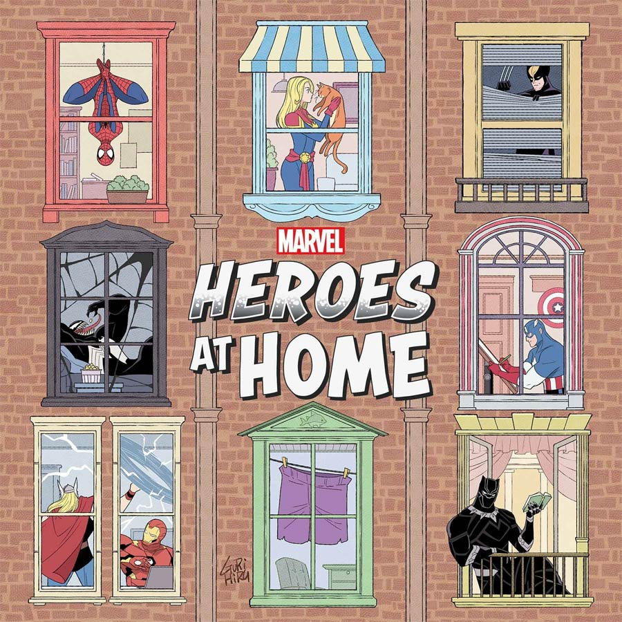 Heroes At Home One Shot Cover A Regular Gurihiru Cover