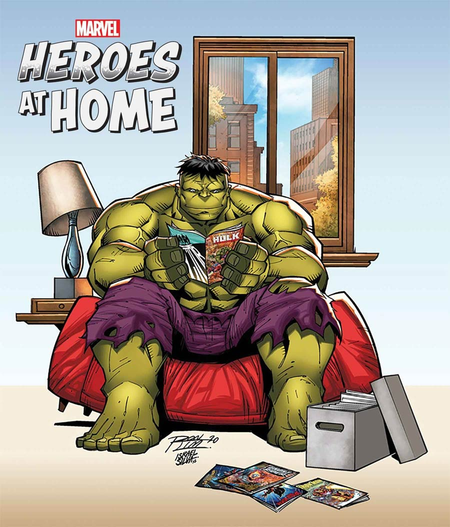 Heroes At Home One Shot Cover B Variant Ron Lim Cover