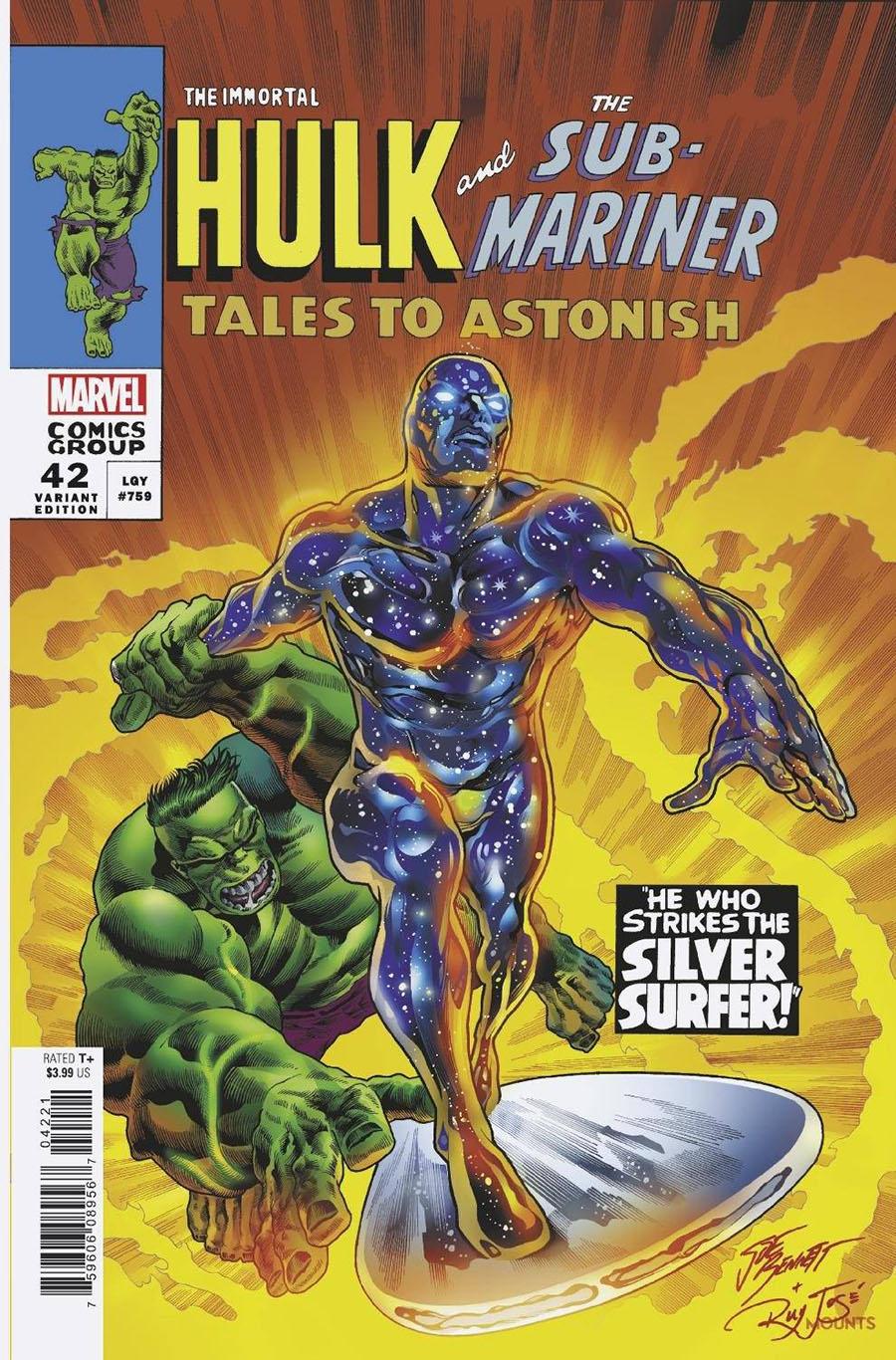 Immortal Hulk #42 Cover C Variant Joe Bennett Homage Cover