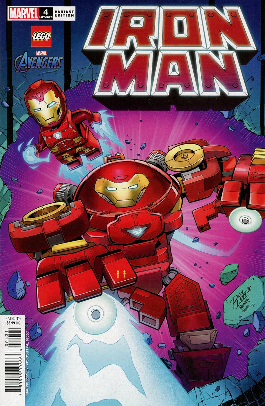 Iron Man Vol 6 #4 Cover C Variant Ron Lim LEGO Cover