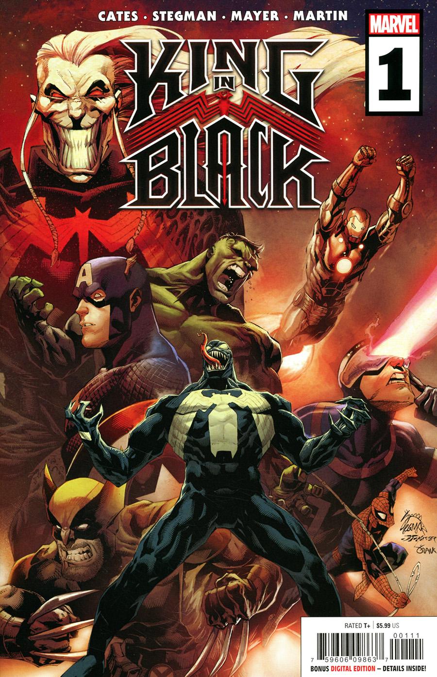 King In Black #1 Cover A Regular Ryan Stegman Cover