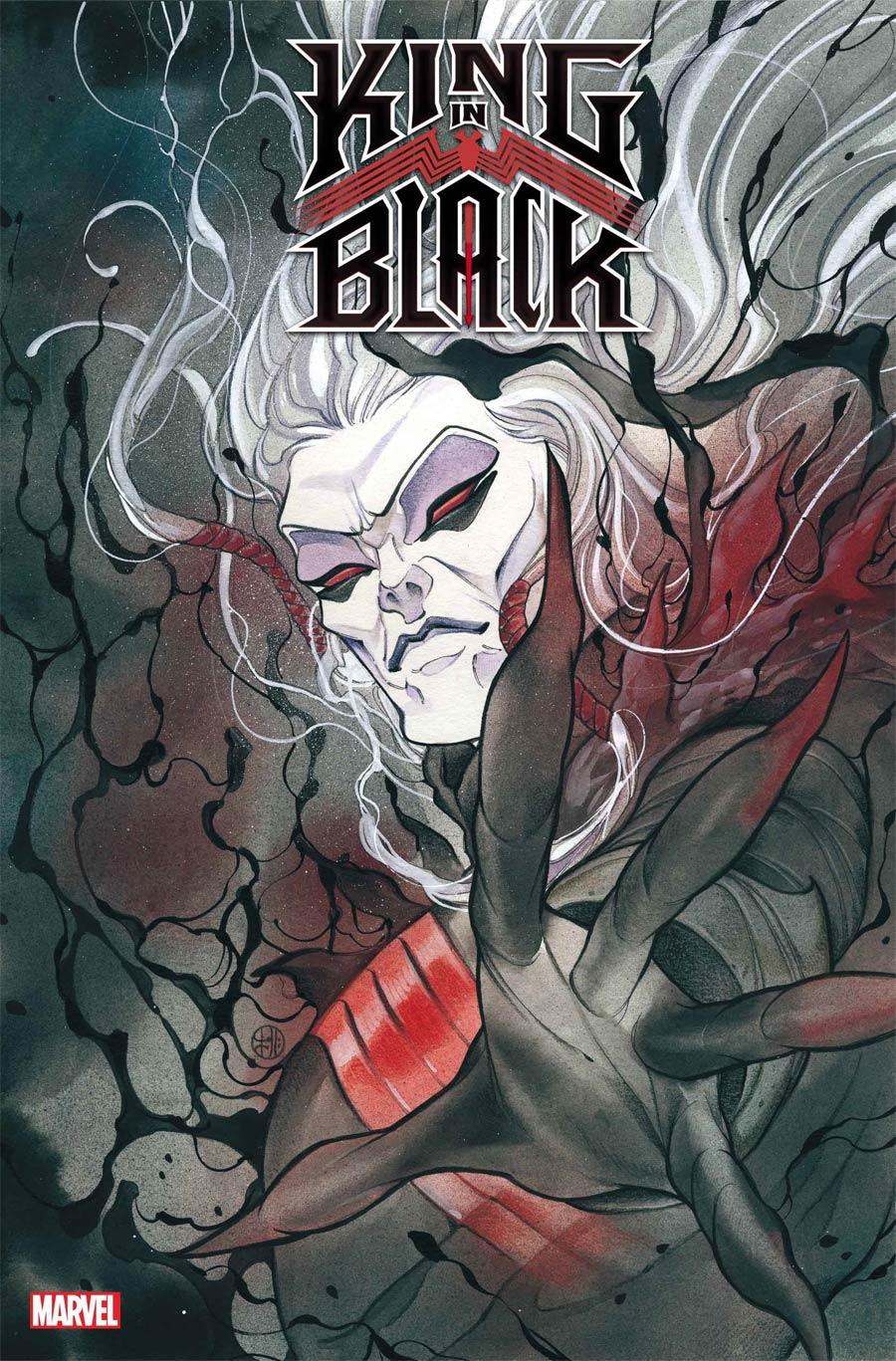 King In Black #1 Cover E Variant Peach Momoko Cover