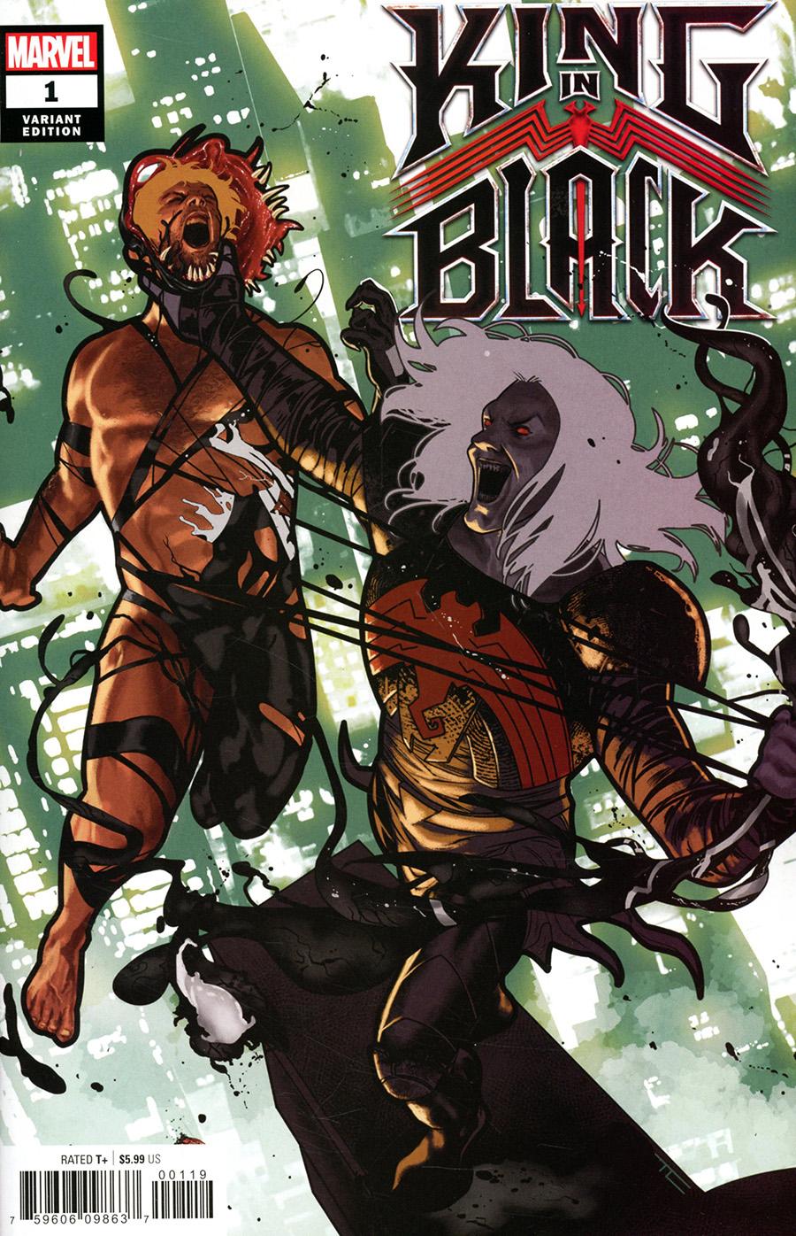 King In Black #1 Cover F Variant Taurin Clarke Spoiler Cover