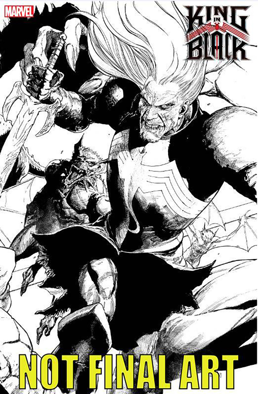 King In Black #2 Cover B Variant Leinil Francis Yu Connecting Cover
