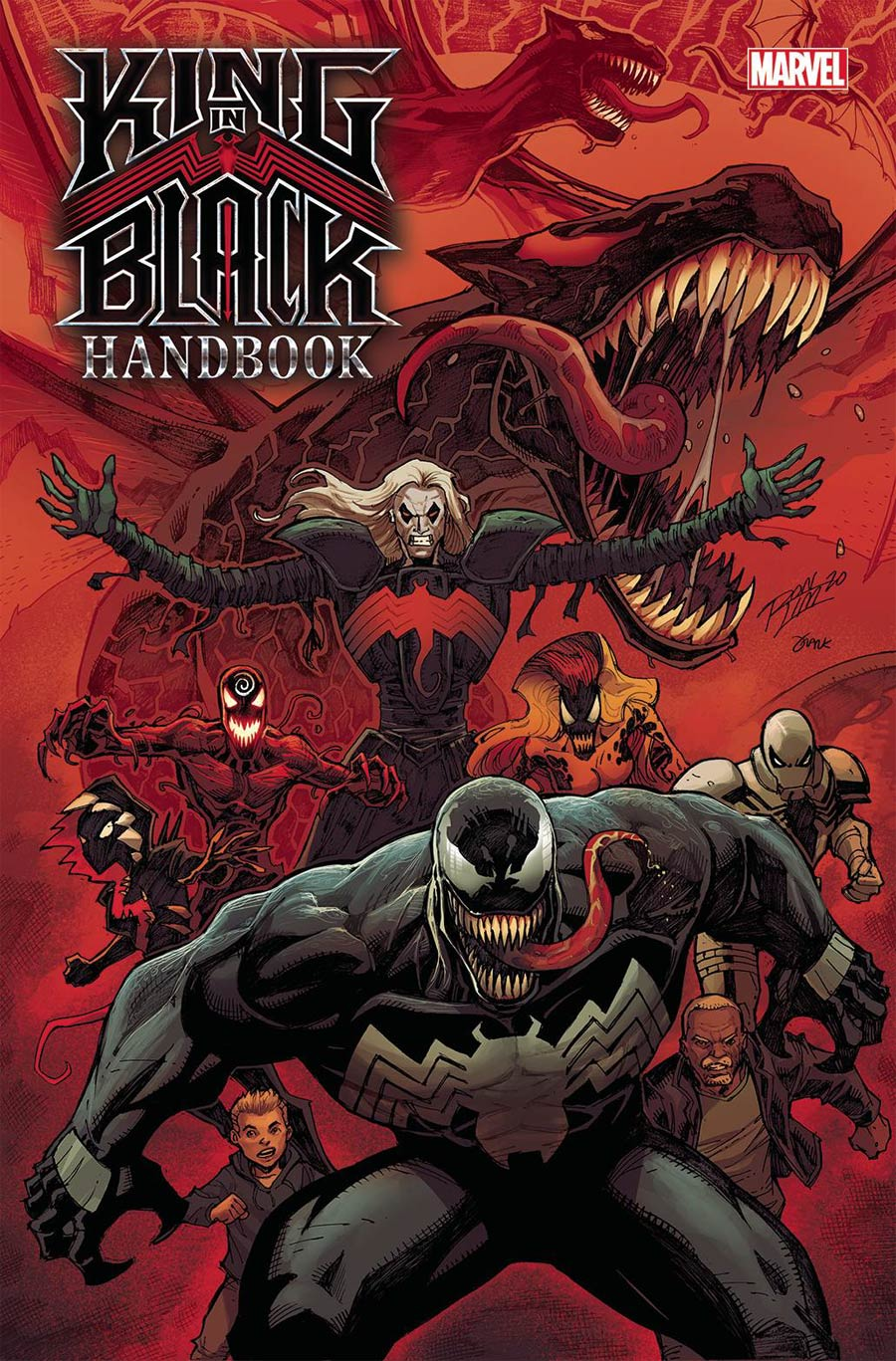 King In Black Handbook #1 Cover A Regular Ron Lim Cover