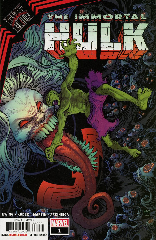 King In Black Immortal Hulk One Shot Cover A Regular Aaron Kuder Cover