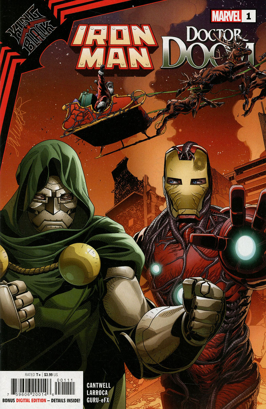 King In Black Iron Man Doctor Doom One Shot Cover A Regular Salvador Larroca Cover