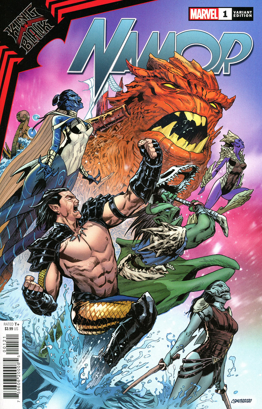King In Black Namor #1 Cover B Variant Cory Smith Cover