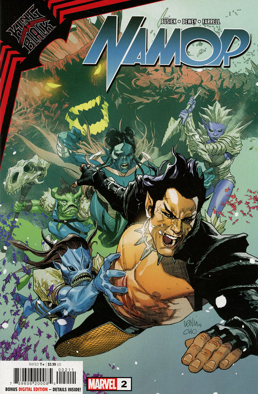 King In Black Namor #2