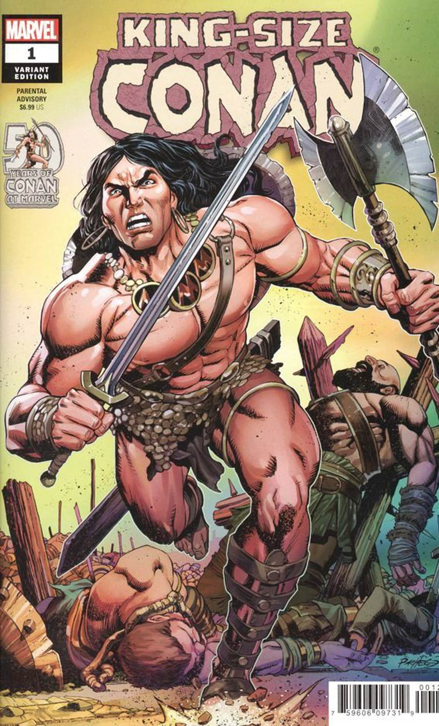King-Size Conan One Shot Cover B Variant Carlos Pacheco Cover