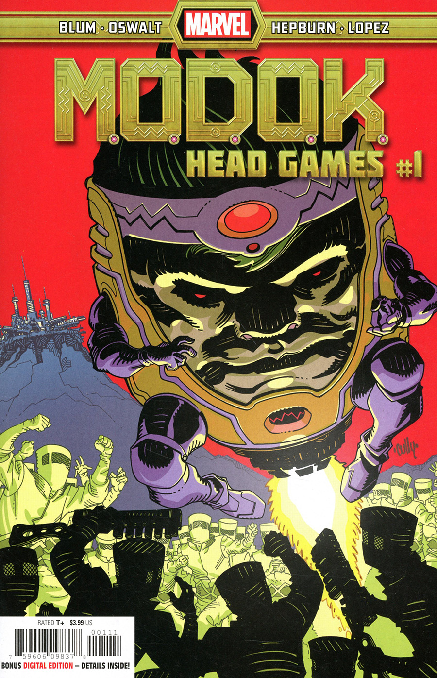 MODOK Head Games #1 Cover A Regular Cully Hamner Cover