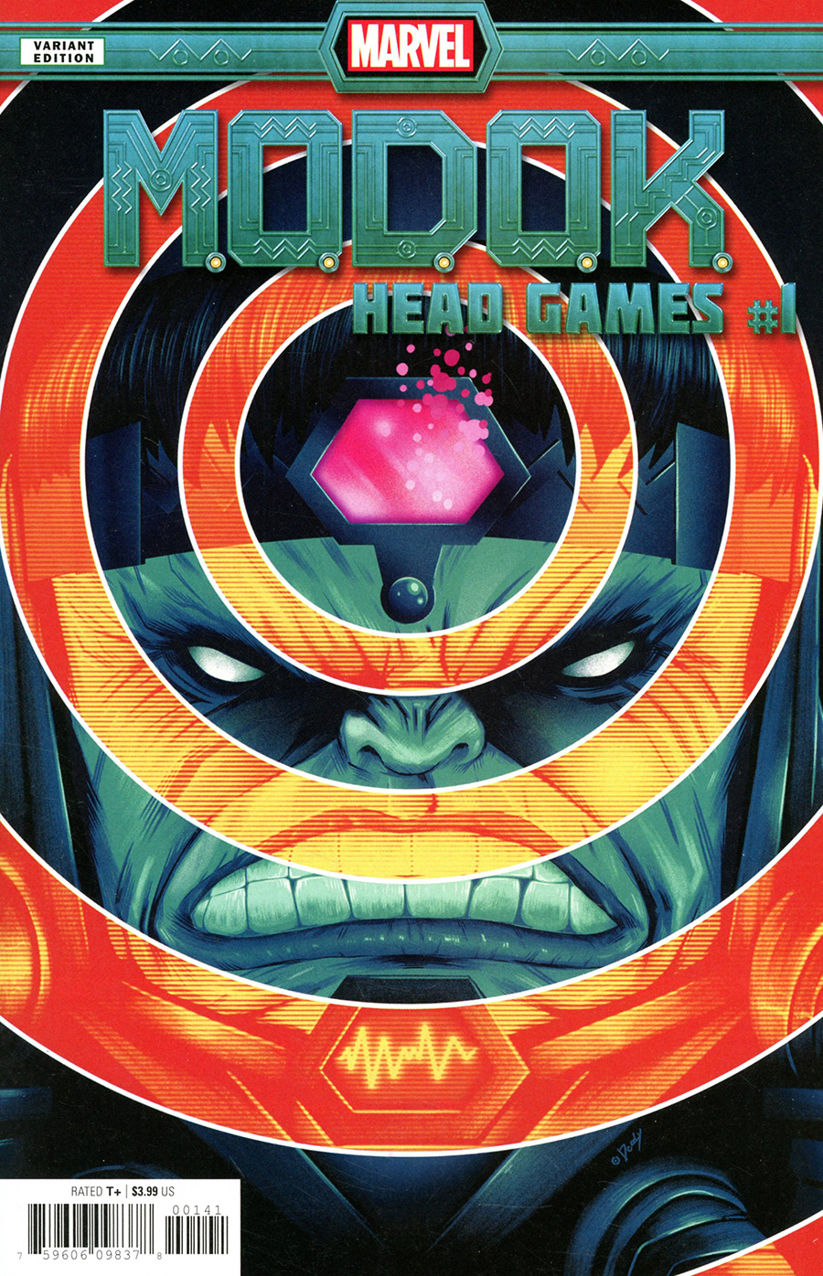 MODOK Head Games #1 Cover B Variant Doaly Cover