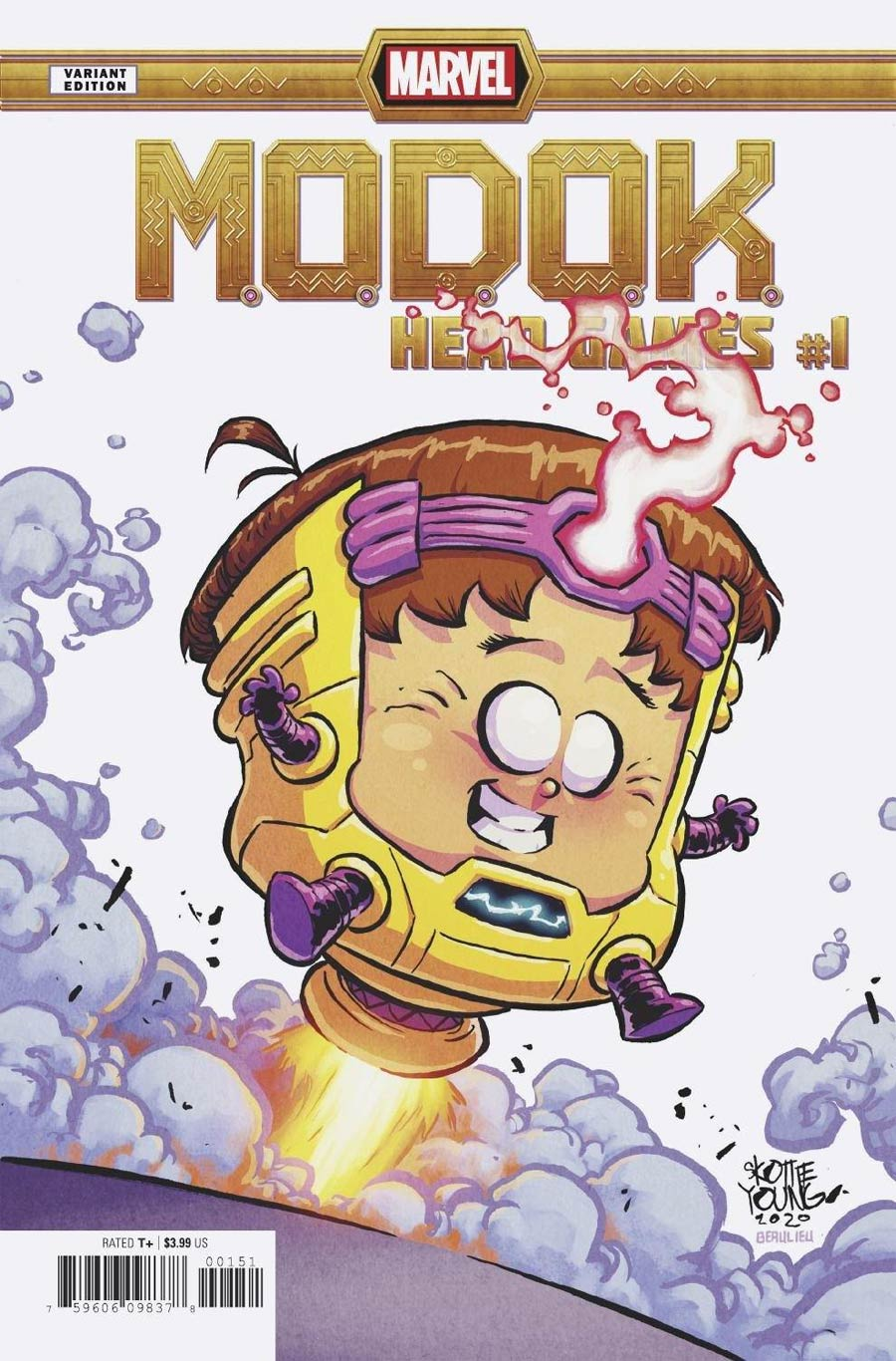 MODOK Head Games #1 Cover C Variant Skottie Young Cover