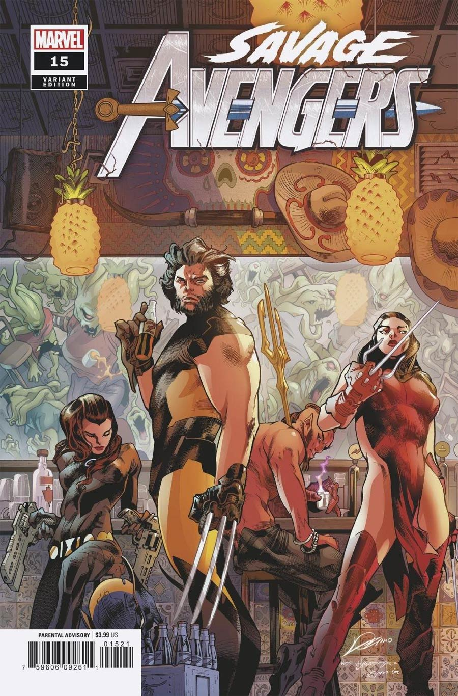 Savage Avengers #15 Cover B Variant Alexander Lozano Cover