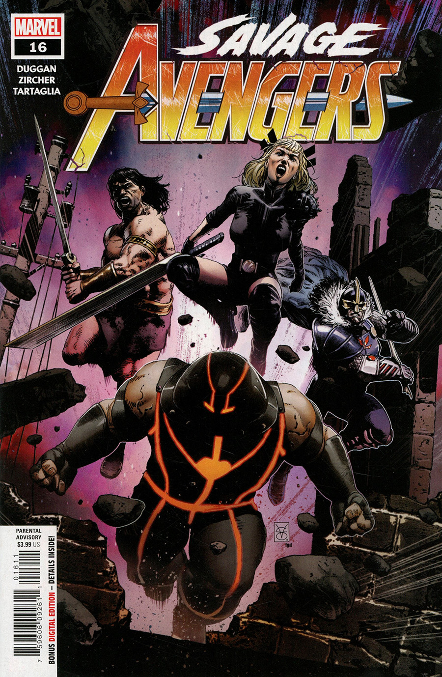 Savage Avengers #16 Cover A Regular Valerio Giangiordano Cover
