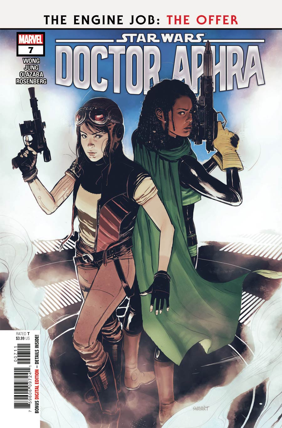 Star Wars Doctor Aphra Vol 2 #7 Cover A Regular Sway Cover (Limit 1 Per Customer)