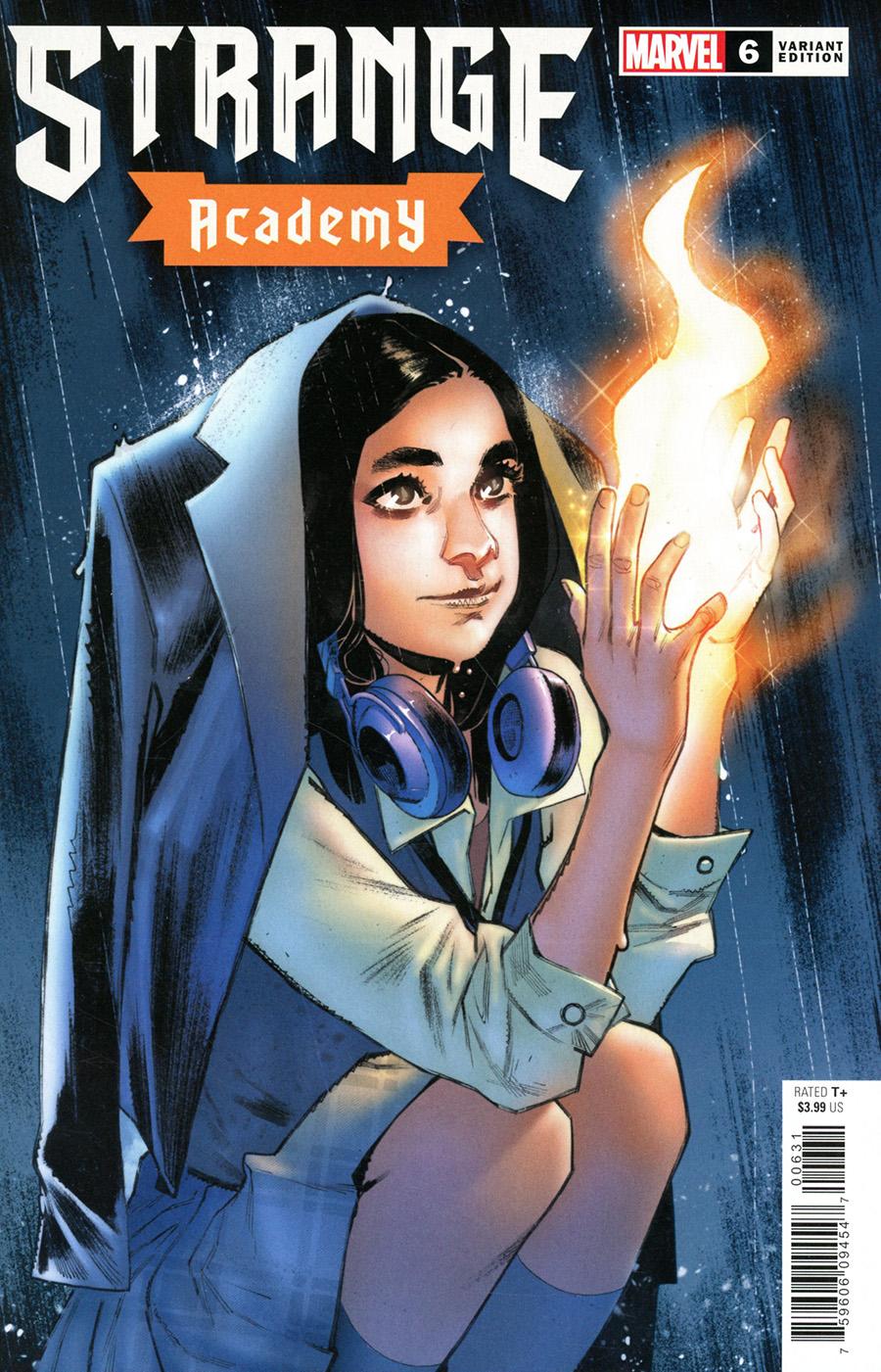 Strange Academy #6 Cover C Variant Sara Pichelli Cover