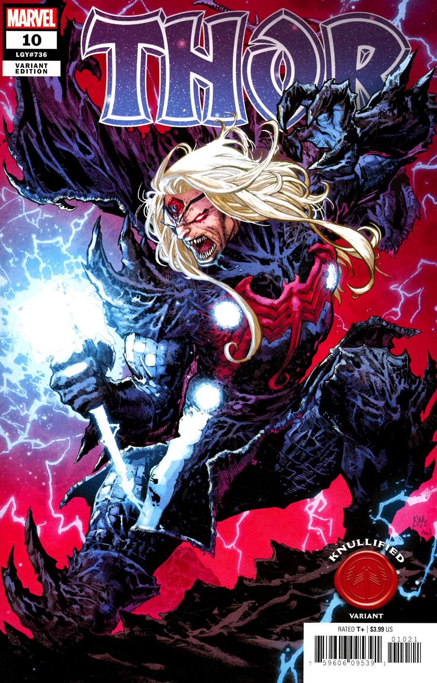 Thor Vol 6 #10 Cover B Variant Ken Lashley Knullified Cover