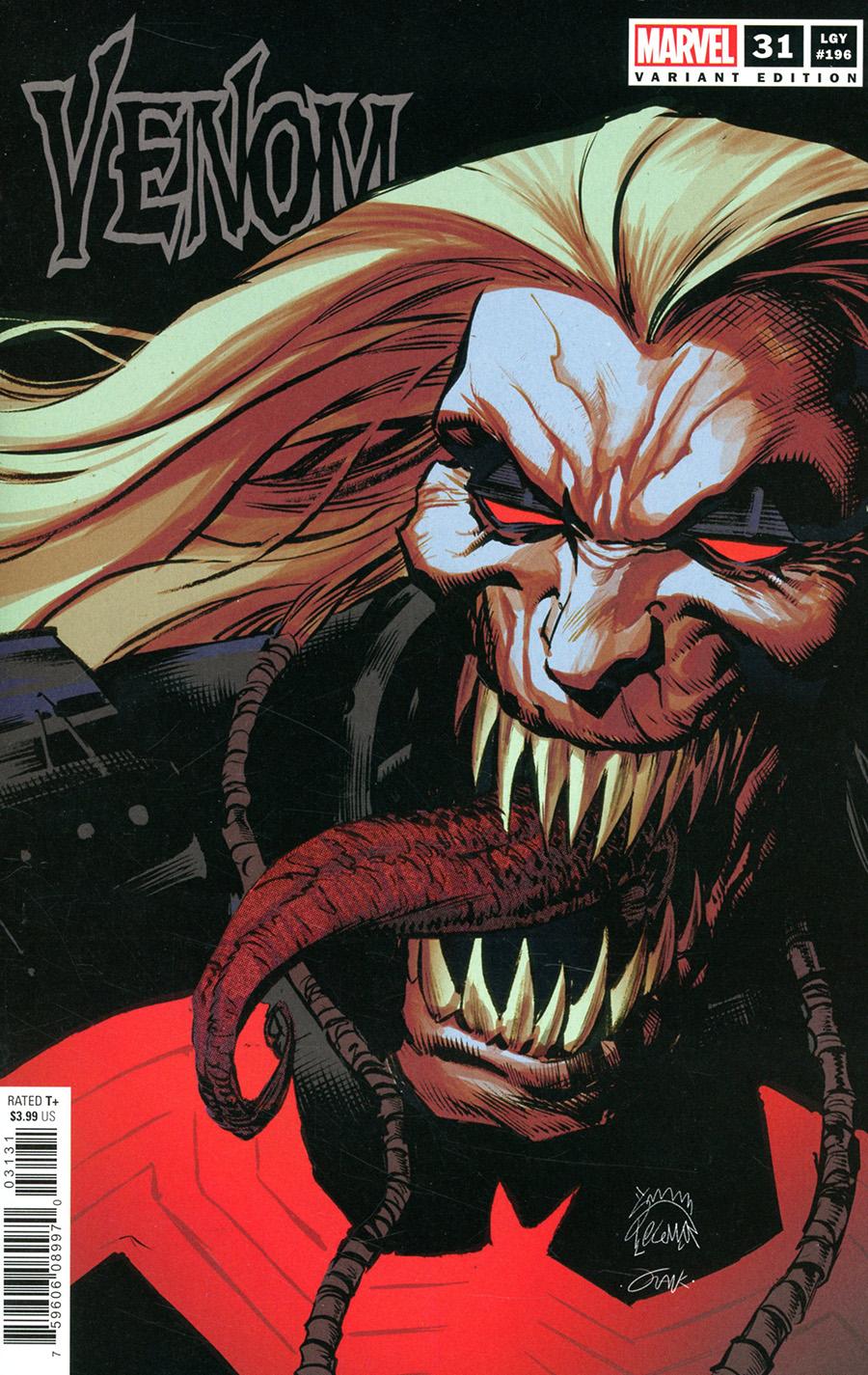 Venom Vol 4 #31 Cover C Variant Ryan Stegman Cover (King In Black Tie-In)