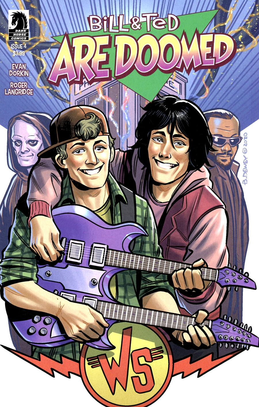 Bill & Ted Are Doomed #4 Cover B Variant Benjamin Dewey Cover